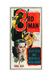 THE THIRD MAN  l-r: Alida Valli  Joseph Cotten on US poster art  1949