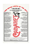 CABARET  US poster  Liza Minnelli  1972