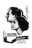 ACCUSED  from left on US poster art: Douglas Fairbanks Jr  Dolores Del Rio  1936