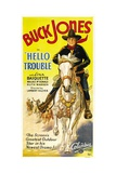 HELLO TROUBLE  Buck Jones  1932