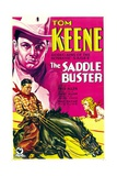 SADDLE BUSTER  top and bottom left: Tom Keene  1932