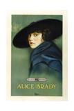 Alice Brady on 1918 promotional poster art