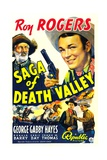 SAGA OF DEATH VALLEY  top from left: George 'Gabby' Hayes  Roy Rogers  1939