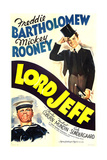 LORD JEFF  US poster art  from left: Mickey Rooney  Freddie Bartholomew  1938