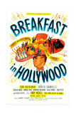 BREAKFAST IN HOLLYWOOD  US poster  Tom Breneman  1946