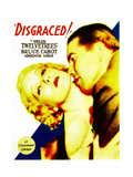 DISGRACED!  Helen Twelvetrees  Bruce Cabot on midget window card  1933