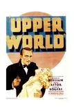 UPPERWORLD  from left: Warren William  Ginger Rogers on midget window card  1934