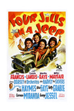FOUR JILLS IN A JEEP  US poster  1944