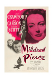 MILDRED PIERCE  top right: Joan Crawford  bottom from left: Zachary Scott  Jack Carson  1945