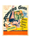 THE POWERS GIRL  bottom left: Benny Goodman on window card  1943
