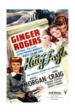 KITTY FOYLE  Ginger Rogers  Dennis Morgan  1940