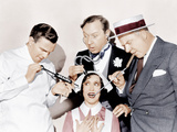 INTERNATIONAL HOUSE  from left: George Burns  Gracie Allen  Franklin Pangborn  WC Fields  1933