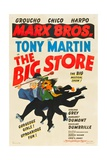 THE BIG STORE  the Marx Brothers-from left: Harpo Marx  Chico Marx  Groucho Marx  1941