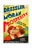 PROSPERITY  from left on US poster art: Polly Moran  Marie Dressler  1932