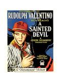 A SAINTED DEVIL  Rudolph Valentino  1924  gaucho