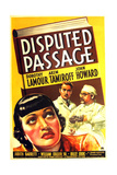 DISPUTED PASSAGE  US poster art  from left: Dorothy Lamour  John Howard  Akim Tamiroff  1939