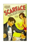 SCARFACE  from left: Paul Muni  Ann Dvorak  1932