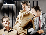 CROSSFIRE  from left: Robert Ryan  Robert Mitchum  Robert Young  1947