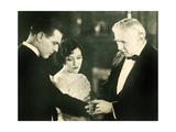 UNTAMED LADY  l-r: Lawrence Gray  Gloria Swanson  Joseph W Smiley  1926