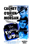 THE FIGHTING 69TH  US poster  from top: James Cagney  Pat O'Brien  George Brent  1940