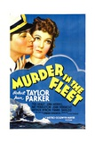 MURDER IN THE FLEET  top from left: Robert Taylor  Jean Parker  1935