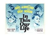 IN THIS OUR LIFE  Dennis Morgan  Bette Davis  George Brent  Olivia de Havilland  1942