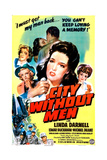 CITY WITHOUT MEN  US poster  Linda Darnell  1943