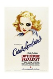 LOVE BEFORE BREAKFAST  Carole Lombard  1936