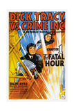 DICK TRACY VS CRIME INC  CHAPTER 1  THE FATAL HOUR  US poster  1941