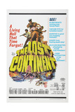 THE LOST CONTINENT  US poster  Eric Porter (top  in captain's hat)  1968