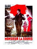 MIDNIGHT IN PARIS  French poster  (aka MONSIEUR LA SOURIS)  Raimu  1942