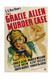 THE GRACIE ALLEN MURDER CASE  Gracie Allen  1939