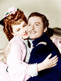 THEY DIED WITH THEIR BOOTS ON  from left: Olivia de Havilland  Errol Flynn  1941