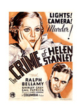 THE CRIME OF HELEN STANLEY  US poster art  from top: Shirley Grey  Ralph Bellamy  1934