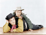 THE WISTFUL WIDOW OF WAGON GAP  from left: Lou Costello  Bud Abbott  1947