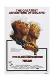 Papillion  US poster  Steve McQueen  Dustin Hoffman  1973