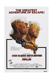 PAPILLON  US poster  from left: Steve McQueen  Dustin Hoffman  1973