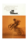 ON ANY SUNDAY  US poster  1971