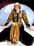 BLUEBEARD'S EIGHTH WIFE  Claudette Colbert  in a costume designed by Travis Banton  1938