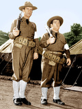 BUCK PRIVATES  from left: Bud Abbott  Lou Costello  (aka Abbott and Costello)  1941