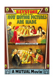 HOW MOTION PICTURES ARE MADE  poster art  1914