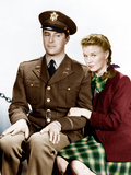 THE MAJOR AND THE MINOR  from left: Ray Milland  Ginger Rogers  1942