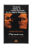 Persona  Argentinan poster  Bibi Andersson  Liv Ullmann  1966