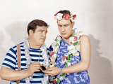 PARDON MY SARONG  from left: Lou Costello  Bud Abbott  (aka Abbott and Costello)  1942
