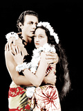 THE HURRICANE  from left: Jon Hall  Dorothy Lamour  1937