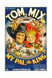 MY PAL  THE KING  from left: Tom Mix  Mickey Rooney  1932