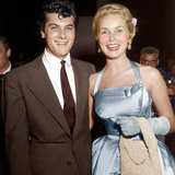 From left: Tony Curtis  Janet Leigh  ca 1950s