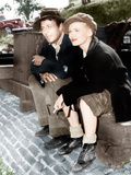 SULLIVAN'S TRAVELS  from left: Joel McCrea  Veronica Lake  1941