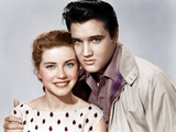 KING CREOLE  from left: Dolores Hart  Elvis Presley  1958