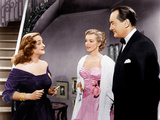 ALL ABOUT EVE  from left: Bette Davis  Marilyn Monroe  George Sanders  1950